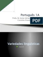 01 Variedades linguisticas