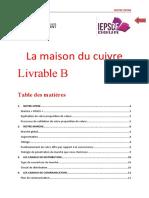 Livrable B Groupe2 MaisonDuCuivre Remarques (1)