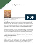 Sinopse do Livro O Segredo dos Segredos-U. S. Andersen