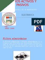 FILTROS ACTIVOS Y PASIVOS
