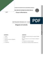 Instrução Técnica - 17 - BRIGADA DE INCÊNDIO