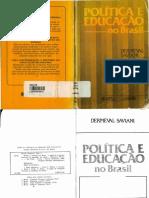 Dermeval Saviani - Politica e Educacao No Brasil