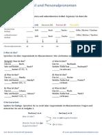 Bestimmter Und Unbestimmter Artikel Sowie Personalpronomen Im Nominativ(1)