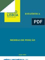Estatística - Medidas de posição