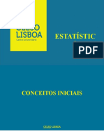 Estatística - Conceitos iniciais