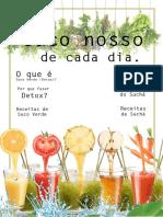 Revista 1 - Suco Nosso de Cada Dia.     (Parceria Com a Nutri.et)