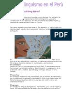 Qué es el multilinguismo