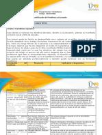 Formato de informe individual - Fase 1