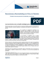 Neurociencias y Neuromarketing en el Cine y la TV