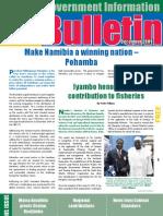MIB Bulletin December 2009 - Namibian Government