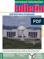 MIB Bulletin March 2008  - Namibian Government
