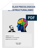 Monografia Escuelas Psicologicas Estructuralismo