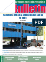 MIb Bulletin November 2009 - Namibian Government