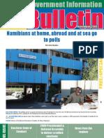 MIb Bulletin November 2009 - Namibian Government