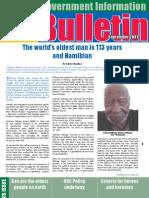 MIB Bulletin September  - Namibian Government