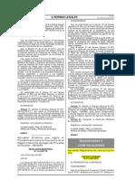 D.S.N°017-2007-MTC-Jerarquizacion SINAC