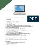 Notebook HP Pavilion dv4-1624laConfiguración
