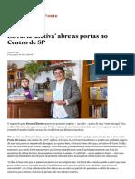 Livraria 'afetiva' abre as portas no Centro de SP