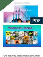Introducción a Toxicología Ocupacional (1)
