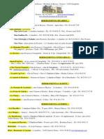 Liste d'hebergements à Picarrou