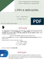 Função Afim e Aplicações - pdf