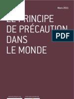Principe de Précaution dans les pays de l'OCDE, Nicolas de Sadeleer