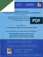 Dimension Culturelle de Certaines Fonctions de La Traduction (J. Delisle)