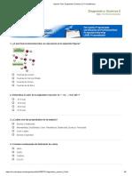 Imprimir Test_ Diagnóstico Química 2 (1º bachillerato)