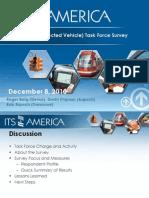 ITSA IntelliDrive Task Force Survey Dec 15 2010a