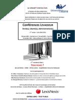 Conférence Levasseur  22 avril