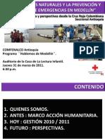 Presentación Cruz Roja - Hablemos de Medellín