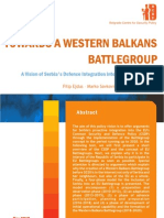 Ejdus, Dragojlovic, Savkovic(2010) towards the western balkans battle group