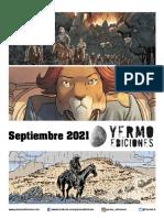 Novedades Yermo septiembre 2021