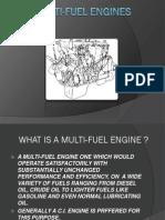 Multi-Fuel Engines