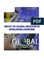 Impact of Glabal Recession in Developing Countries