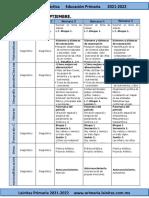 ?Septiembre - 4to Grado Dosificación (2021-2022)