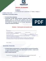 Check List Credito Imobiliario Com Garantia de Imovel Banco Bv