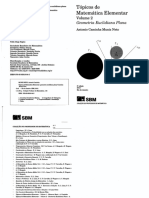 Tópicos de Matemática Elementar Vol. II