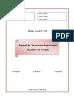 Rapport de l'Évaluation Diagnostique (4)