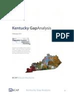 KY Gap Analysis Report Final Draft - AP 2011