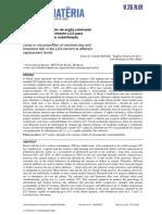 Estudo Da Proporcao de Argila Calcinada e Filer CA