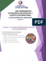 Semana 5 Plan Exportador