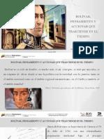 Presentación_influencia y Vigencia Del Pensamiento Bolivariano