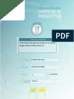 Carpeta de Productor