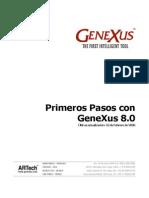 Primeros pasos con genexus 8.0