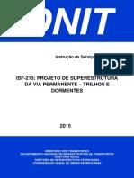Isf 213 Projeto de Superestrutura Da via Permanente Trilhos e Dormentes (1)