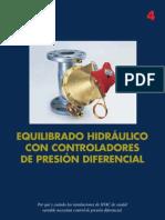 Equilibrado Hidráulico con controladores de presión diferencial