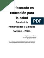 Ficha 1 - Educación, Salud y Eduacion Para La Salud