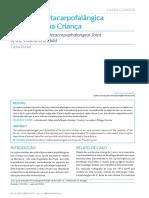 Dislocation of the Metacarpophalangeal Joint