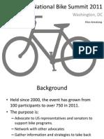 National Bike Summit 2011 Presentation